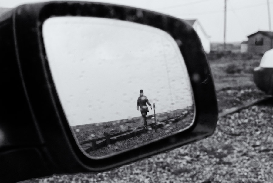 Wing mirror view